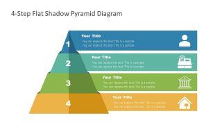 Slide of Infographic Pyramid Diagram