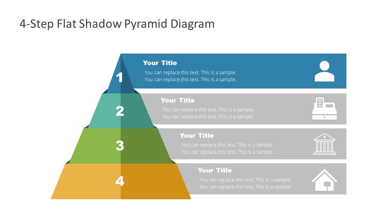 Level 1 of Flat Pyramid Diagram