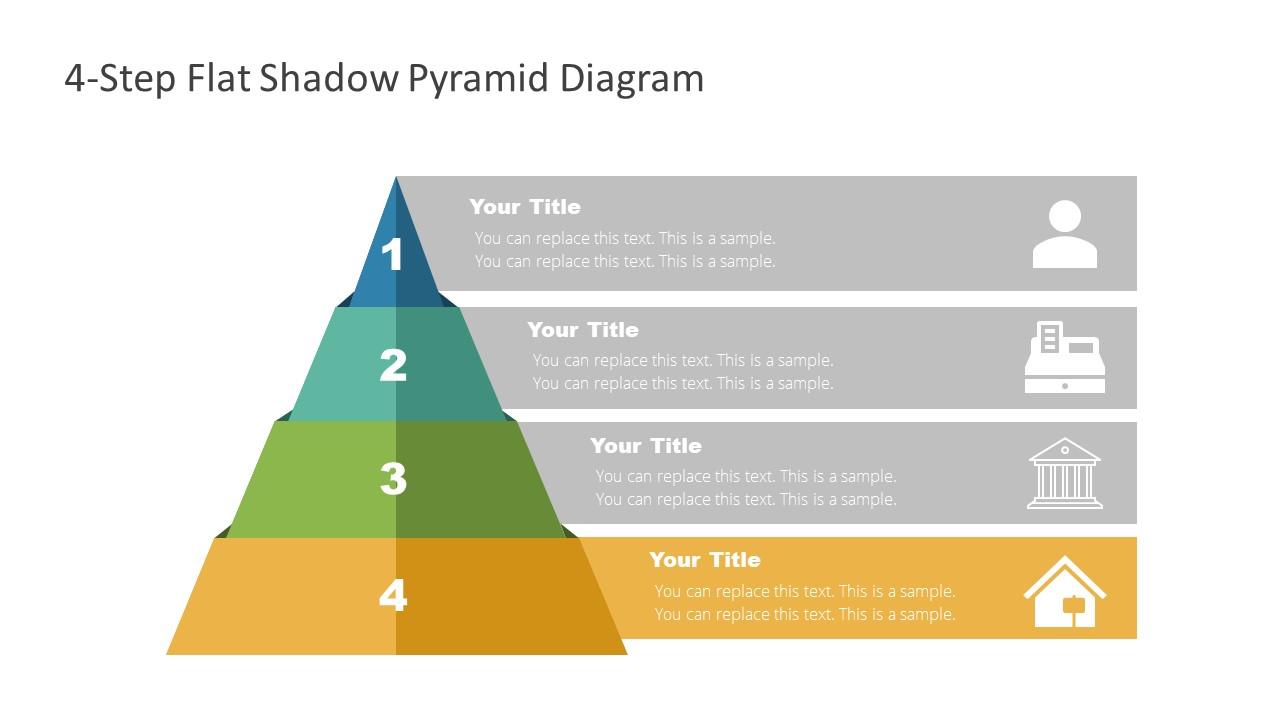 Level 4 of Flat Pyramid Diagram