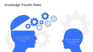 Editable PowerPoint Shapes of Human Head Infographics