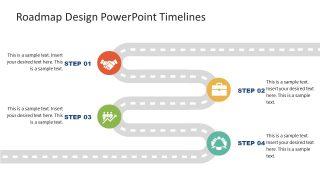 PPT Roadmap PowerPoint Diagram Design
