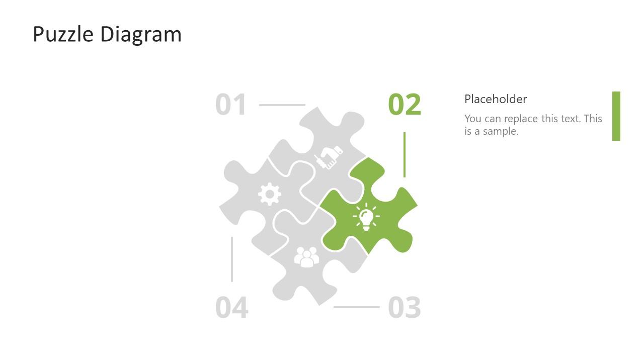 PowerPoint Puzzle Step 2 Diagram