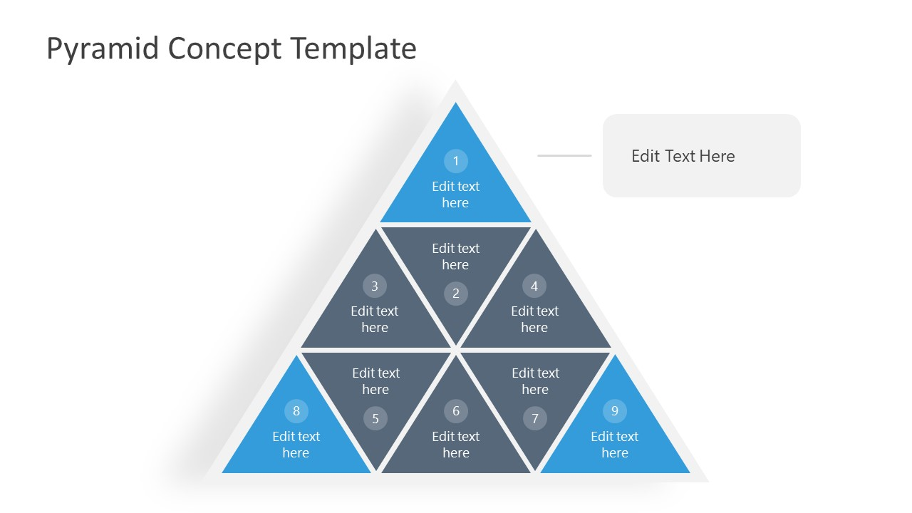 PPT Segmented Pyramid 3 Levels