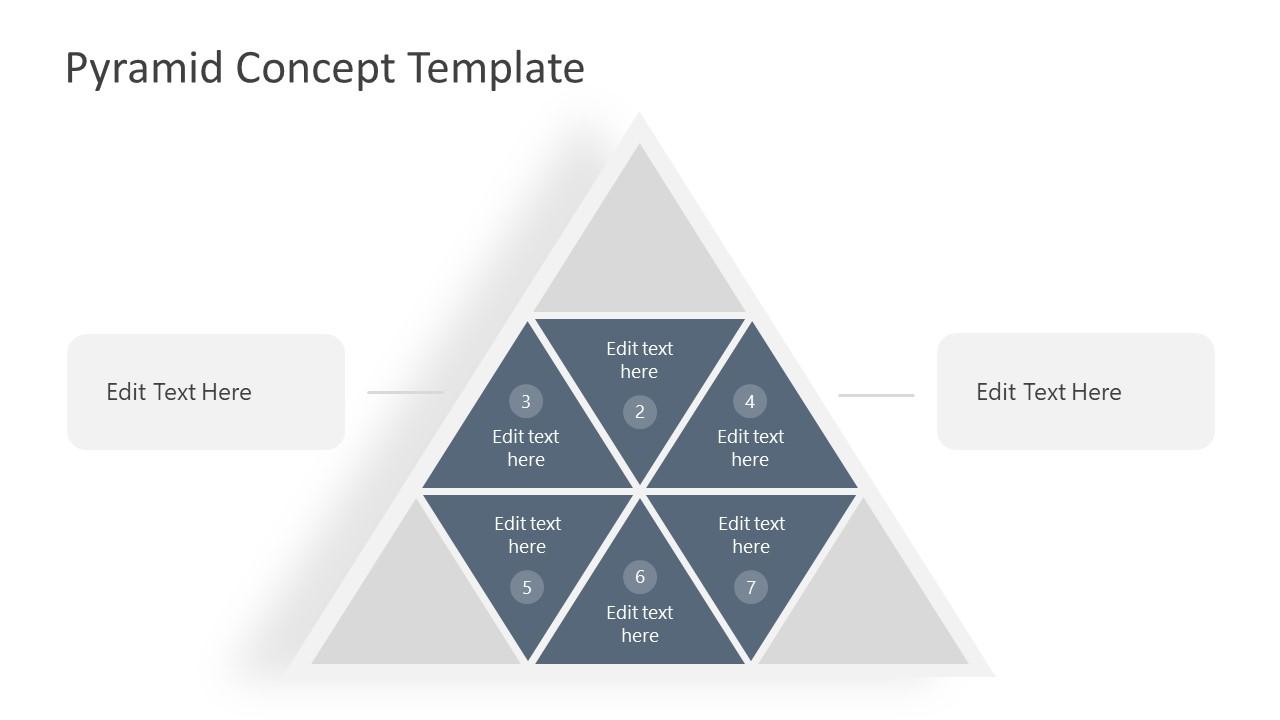 Segmented Pyramid PowerPoint Diagram Template