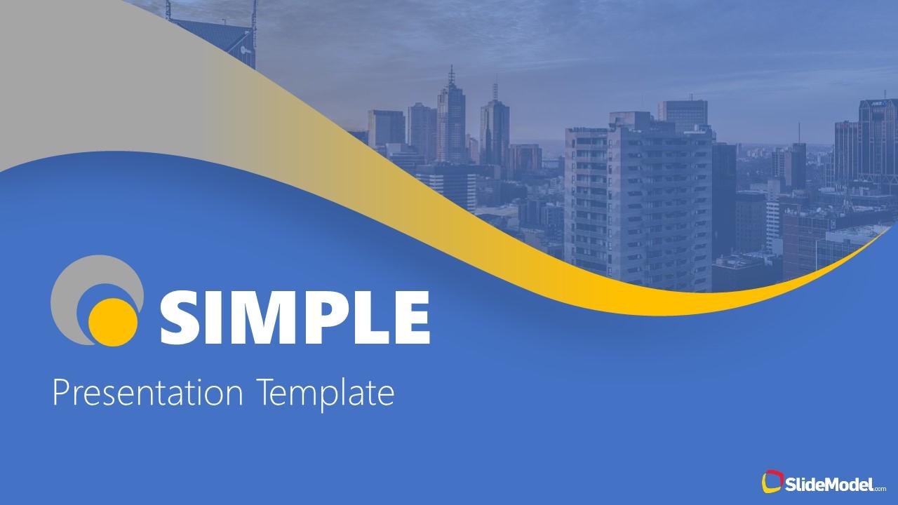 Free Slides of Simple Presentation Template