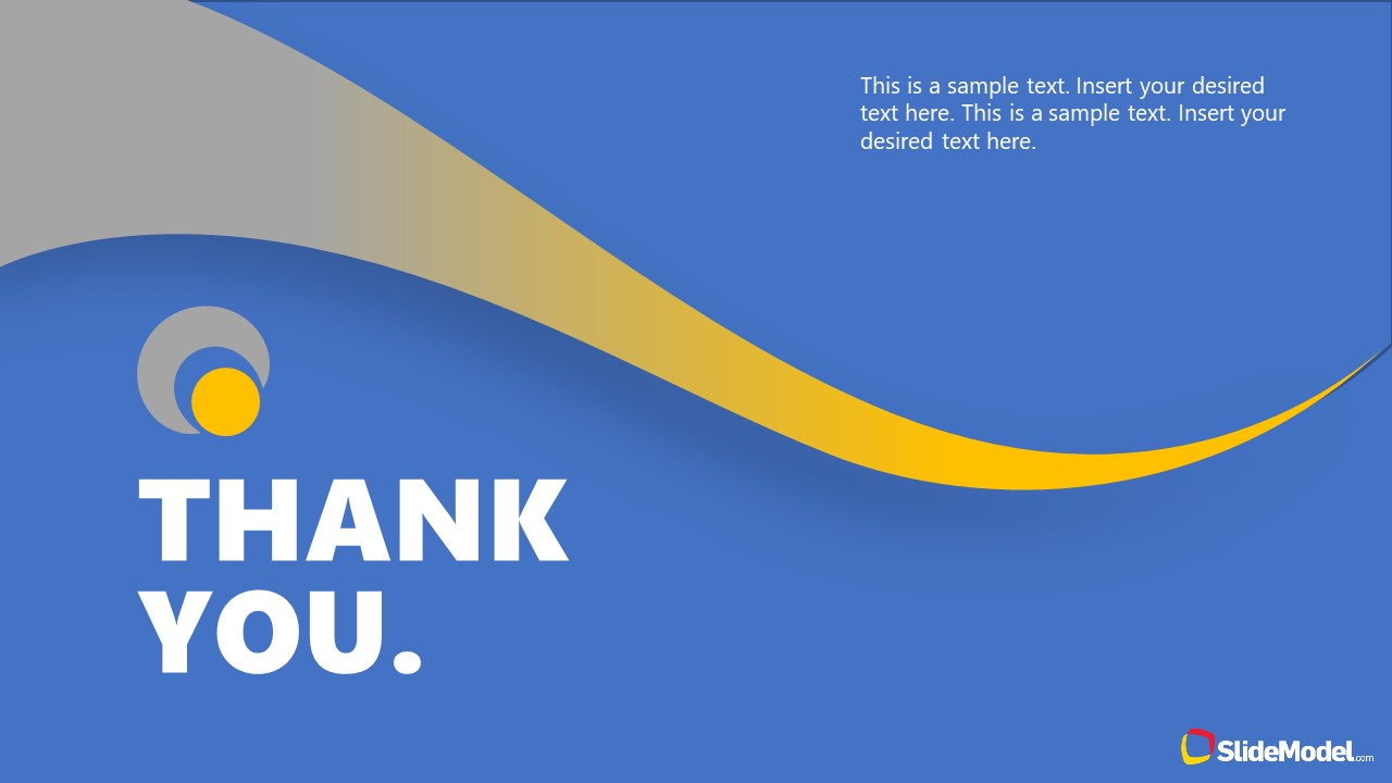 Thank You Slide Simple Theme PPT