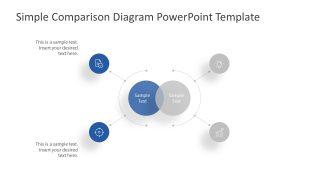 Presentation for Blue Comparison Icons
