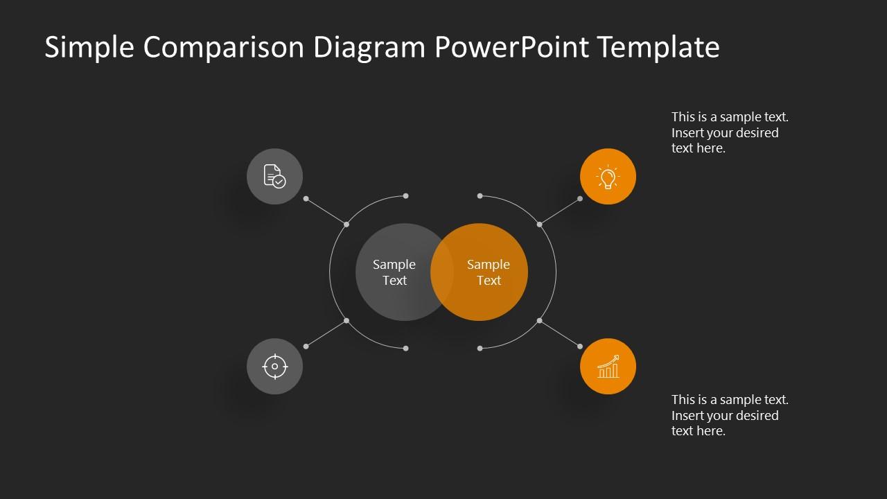 Presentation of 4 Steps Comparison Slides