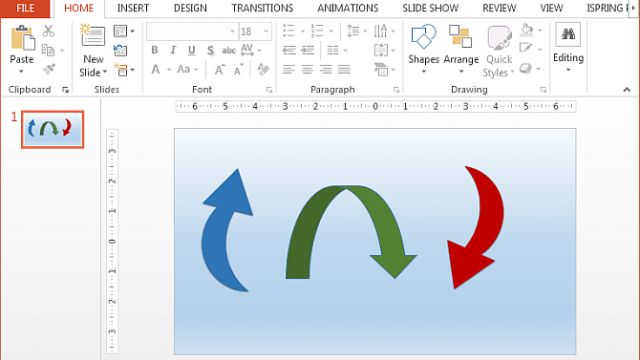 How To Make Curved Arrows in PowerPoint