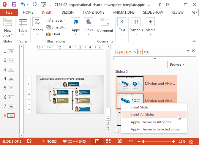 Merge PowerPoint presentation files
