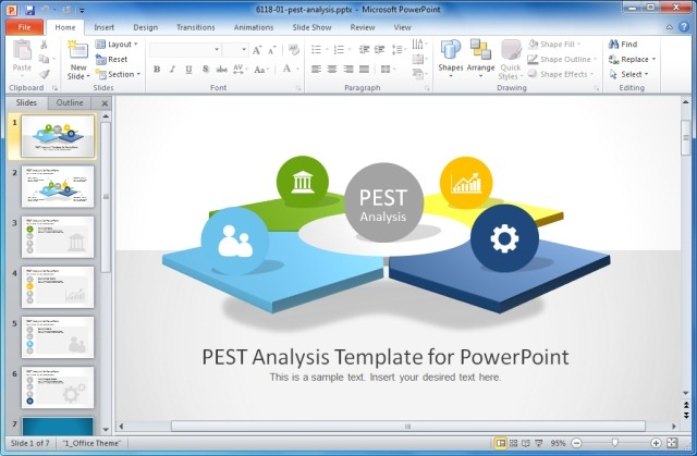 PEST Analysis PowerPoint Template