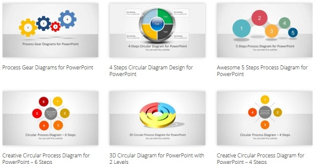 PowerPoint Process Diagram Templates