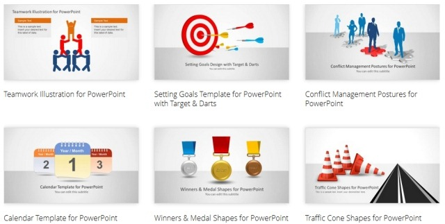 PowerPoint Shape Templates