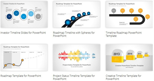 PowerPoint Timeline Templates For Presentations