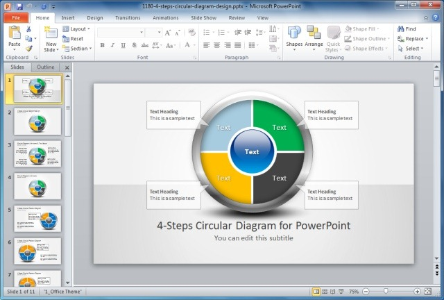 Process Diagram PowerPoint Templates