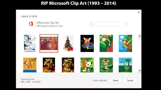 RIP Microsoft Clipart – Microsoft Killed Clipart And Now What?