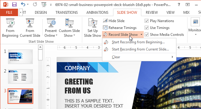 How to Record a Presentation in PowerPoint