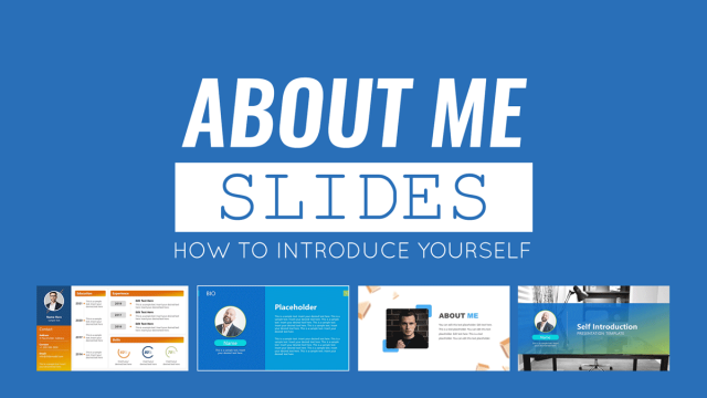 About Me Slides: How to Introduce Yourself in a Presentation