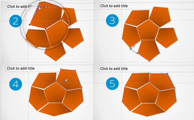 PowerPoint Complex 3D Shape