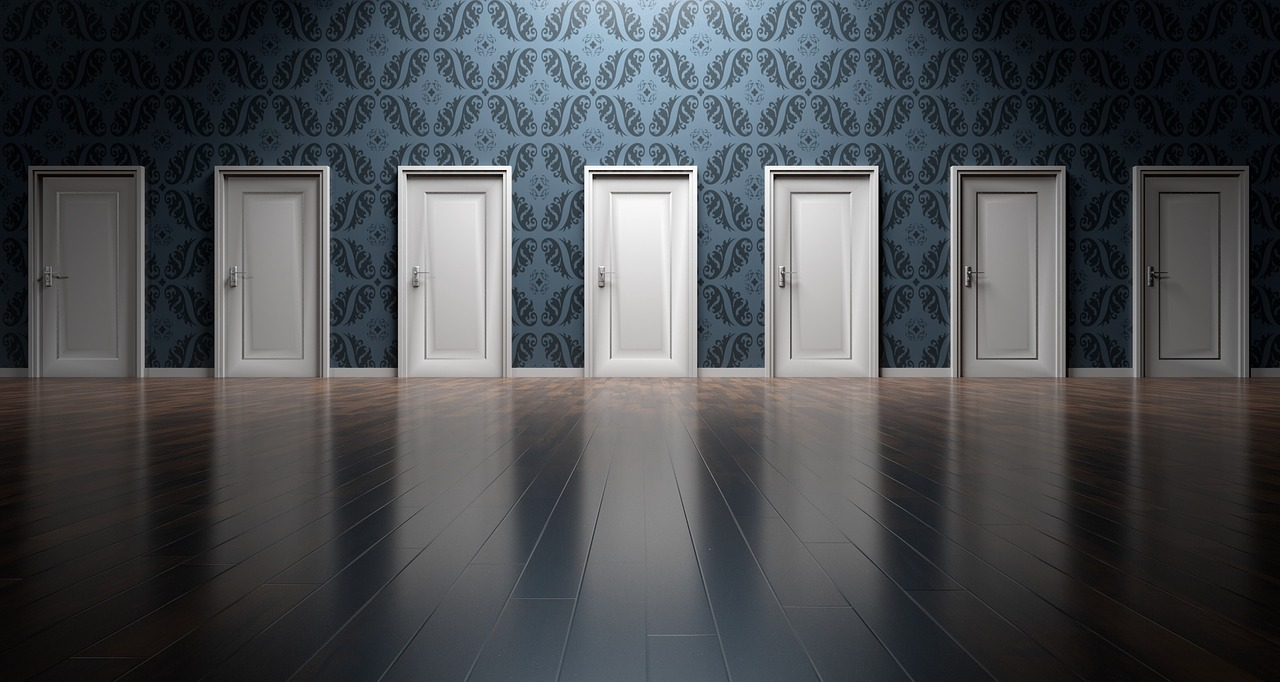 Doors in Analysis Paralysis - Multiple options