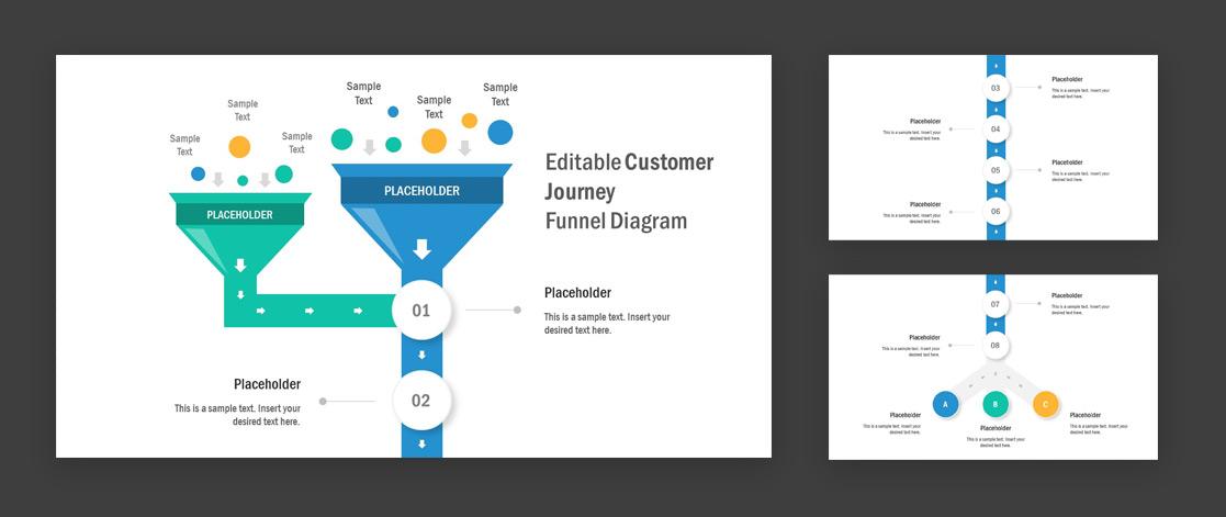 Customer Journey PowerPoint template design by SlideModel