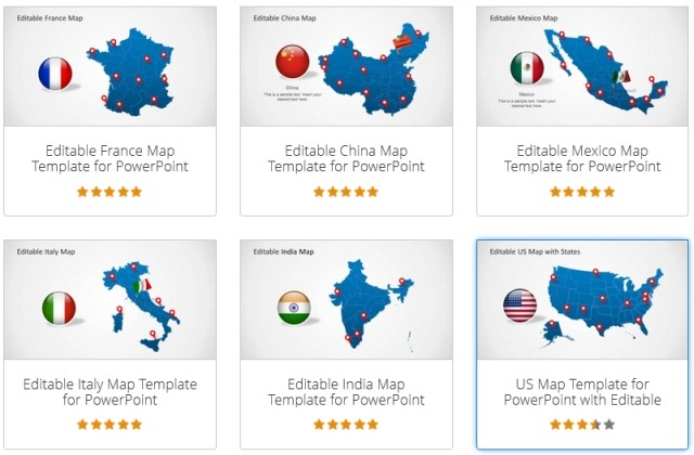editable maps for countries
