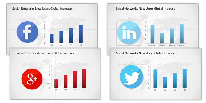 Social Network PowerPoint Icons