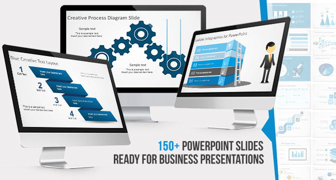 150 free powerpoint templates to make great visually appealing free slides ppt templates mega bundle for powerpoint toneelgroepblik Gallery