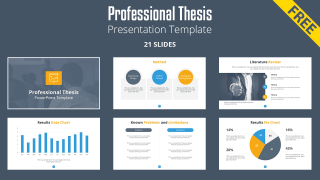 Free Professional Thesis PowerPoint Templates - SlideModel