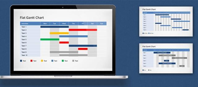 How to Edit a Gantt Chart PowerPoint Template