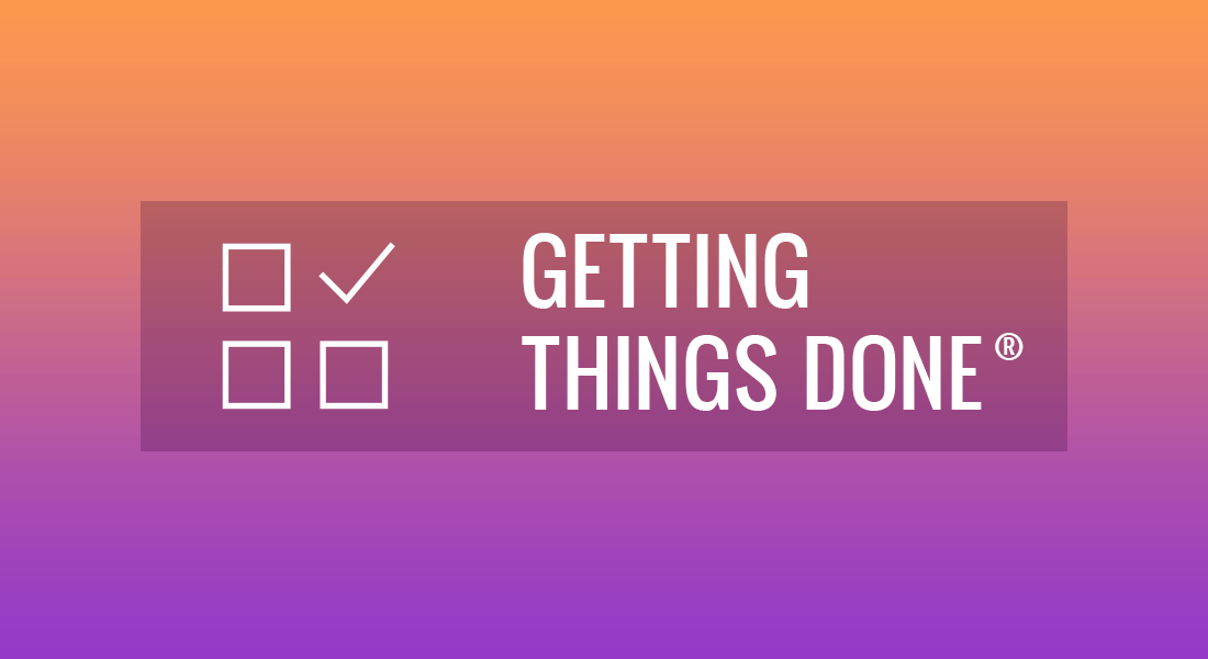 Getting Things Done Methodology