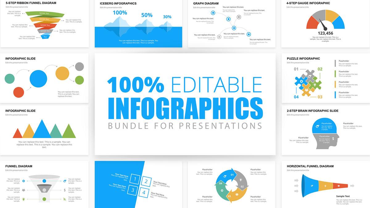 Professional Infographics Bundle for Presentations