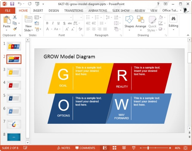 powerpoint template sample