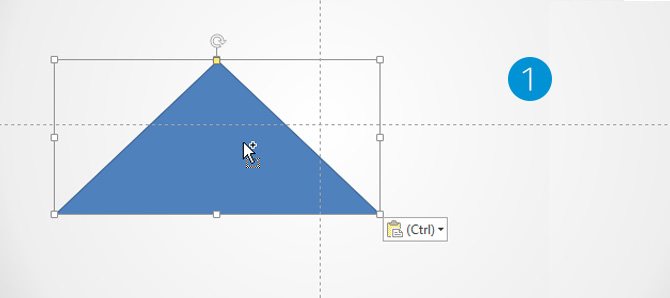 Rectangle PowerPoint Triangle