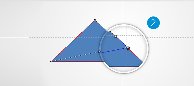 Triangle Anchor Points Editing in PowerPoint