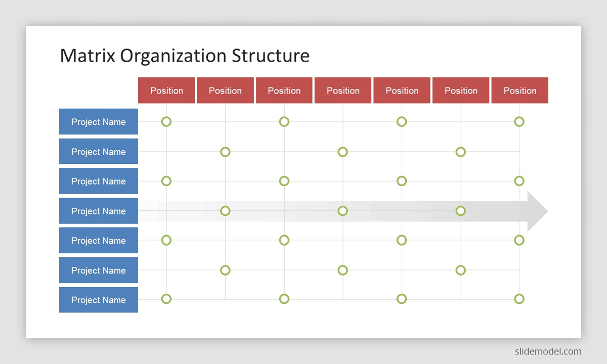 Matrix Organization Structure Template