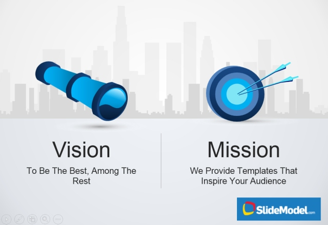 mission statement and vision statement template