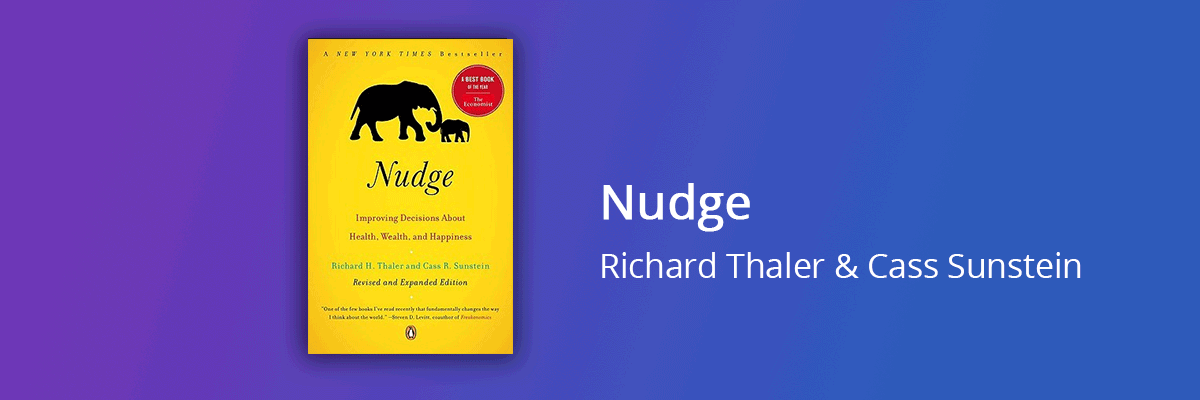 Nudge Thaler Cass Sunstein