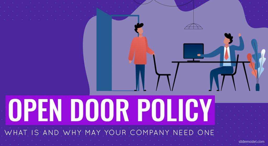 Open Door Policy PowerPoint Templates