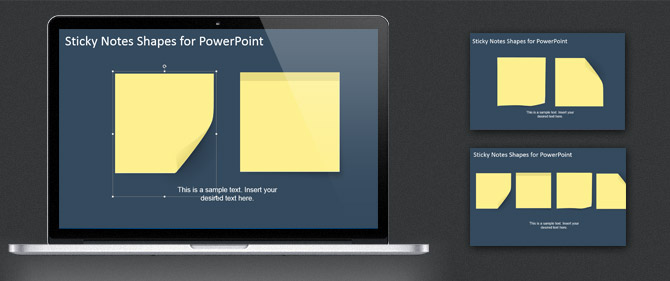 Editable Sticky Notes for PowerPoint (How To)