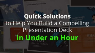 Presentation tips for creating professional PowerPoint Presentations quickly