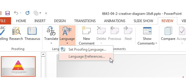 How To Change the Check Spelling Language In PowerPoint 2013 and PowerPoint 2011 (Mac)