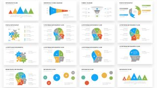 Professional Infographic PowerPoint Slides