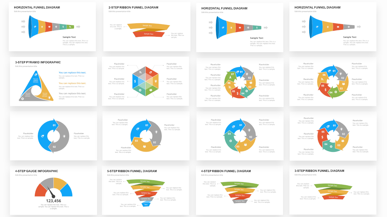 PPT Infographics Bundle Catalog