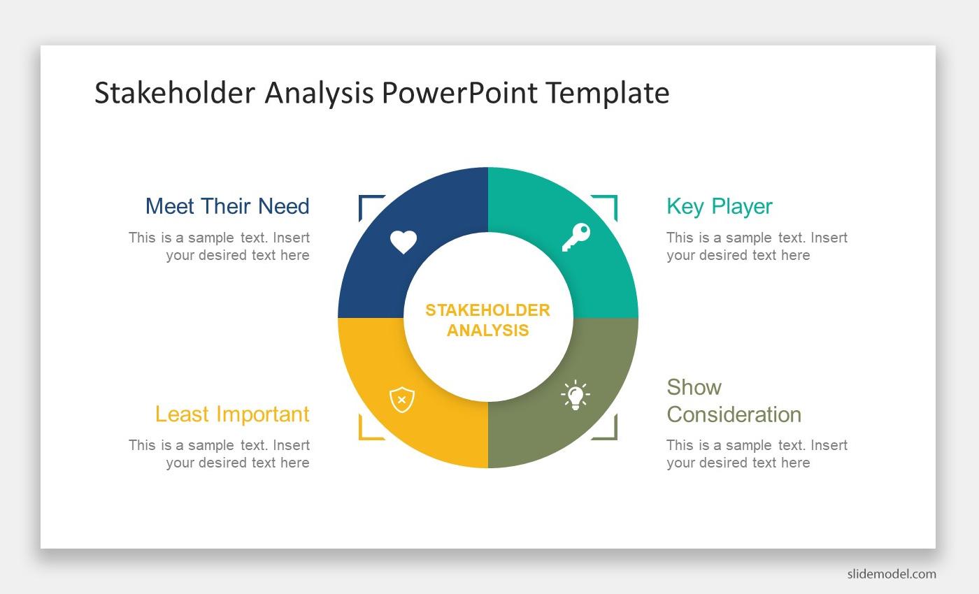 Stakeholder Analysis Presentation design slide