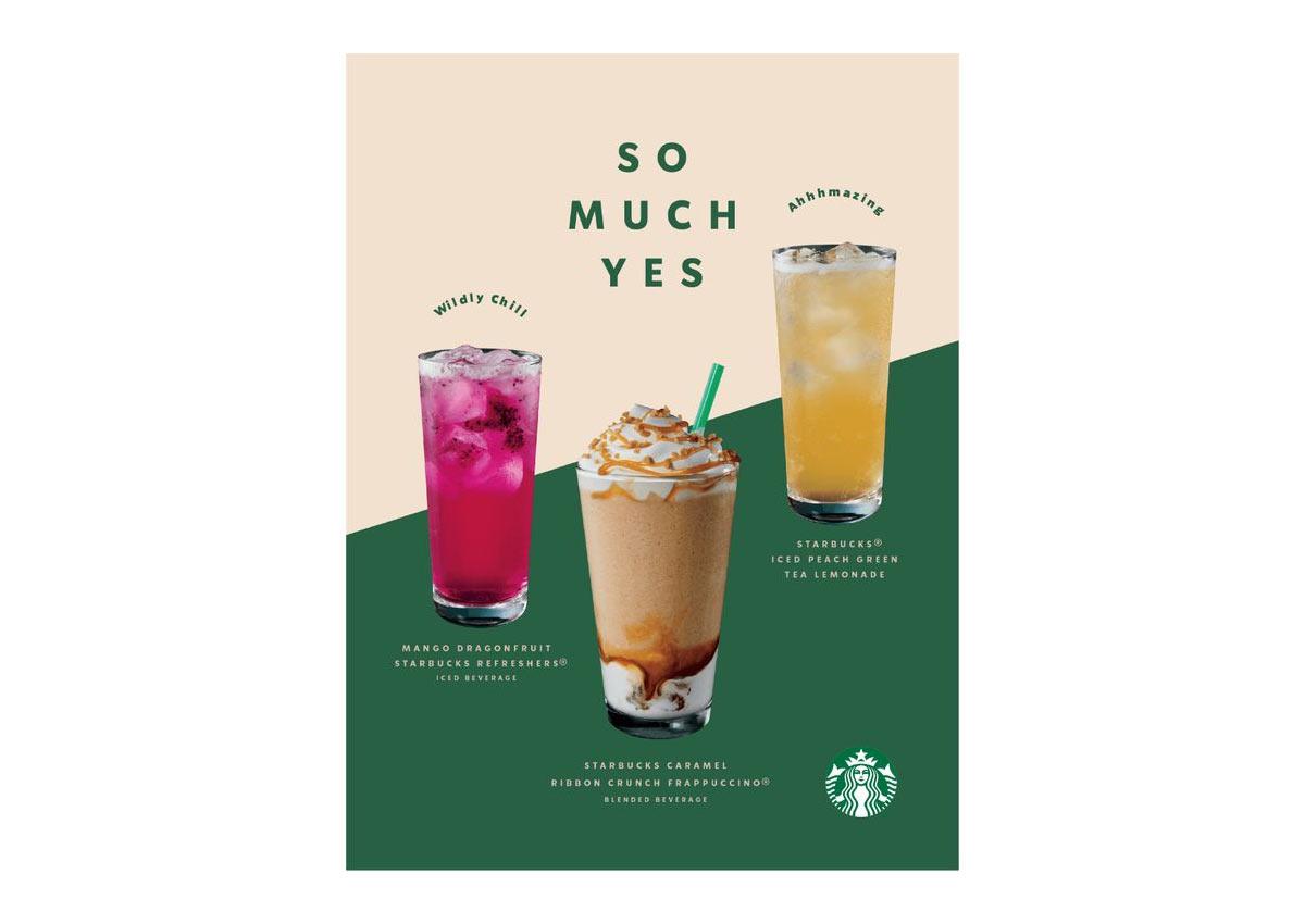 Starbucks Ad Creativity Expression