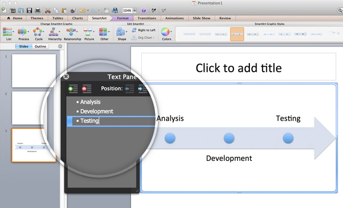 Using Smartart Graphics To Make A Timeline In Powerpoint 2011 For