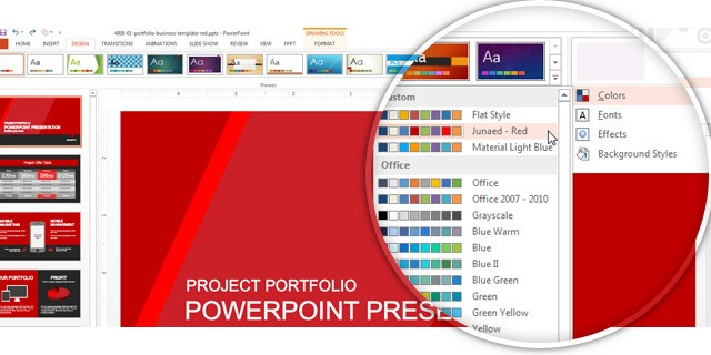 How To Make PowerPoint Themes with a Custom Color Palette